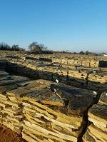Oklahoma Flagstone Yard  » Click to zoom ->