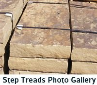 Tennessee Flagstone Step Treads